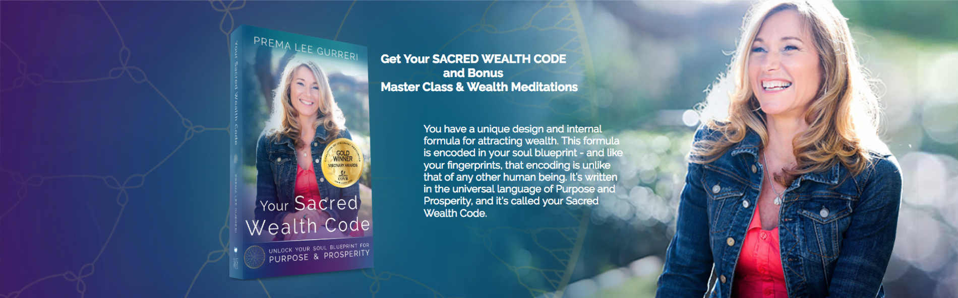 Sacred Wealth Code Book Launch — Soulutionary Programs